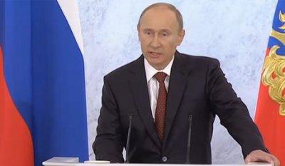 9162 слова Президента Путина
